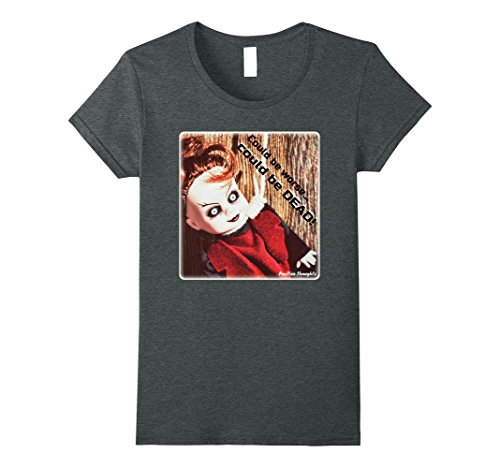Xl Ladies Baby Doll T-Shirt - 3