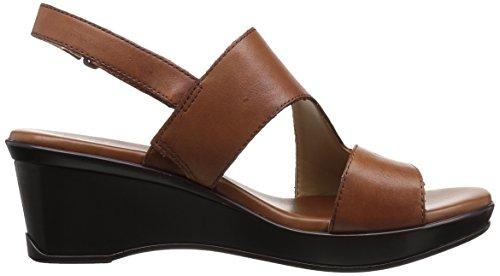 Naturalizer Women's Valerie Wedge Sandal Saddle buy online s8zEdxY