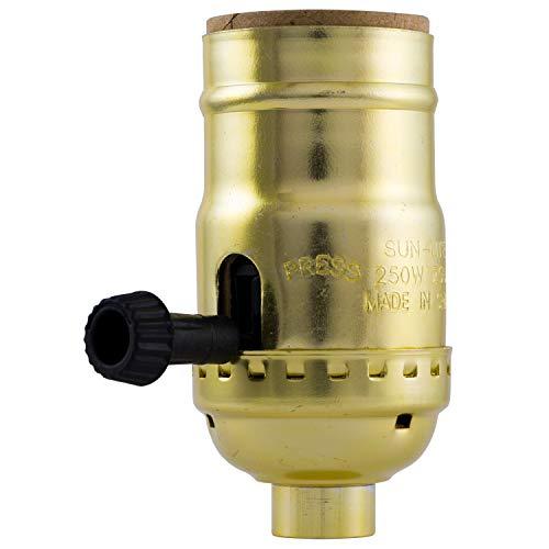 GE 3-Way Lamp Socket