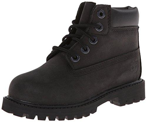 "Timberland Kids Boy's 6"" Premium Waterproof Boot Core  Black"