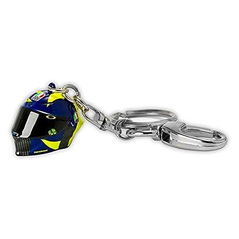 Master Lap Llavero Valentino Rossi Réplica Casco 3D: Amazon ...