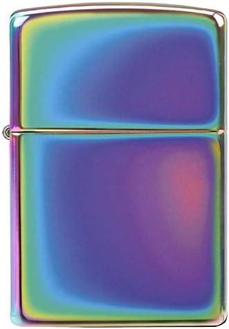 Zippo - Mechero con diseño de Arco Iris y Gasolina: Amazon.es: Hogar