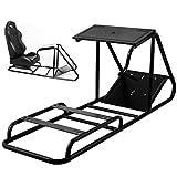 VEVOR Racing Simulator Stand Adjustable Steering
