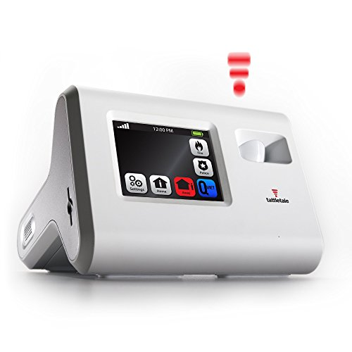 Tattletale Portable Alarm Systems CUW Consumer Unit White with Keychain Remote Tattle Tale