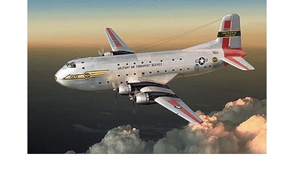 Roden Models 1//144 DOUGLAS C-124A GLOBEMASTER II Transport