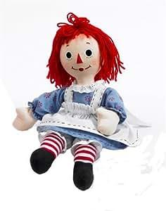 Amazon.com: Madame Alexander Dolls Raggedy Ann Cloth Doll, 18
