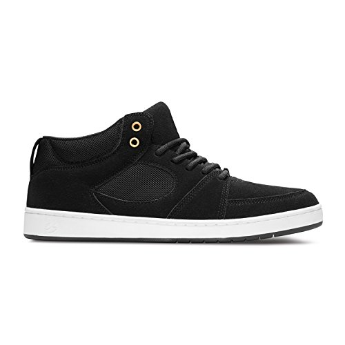 ES Skateboard Shoes ACCEL SLIM MID BLACK
