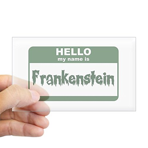 CafePress - Frankenstein Rectangle Sticker - Rectangle Bumper Sticker Car Decal