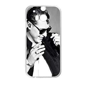 John Newman HTC One M8 Cell Phone Case White H1M0DV