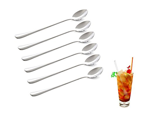 CHESEY Long Handle Ice Tea Spoons