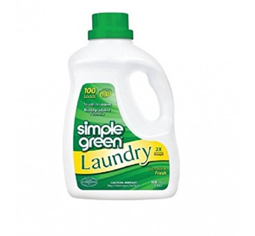 SIMPLE GREEN 1510000417101 Sunshine Fresh Laundry, 100. Fluid_Ounces