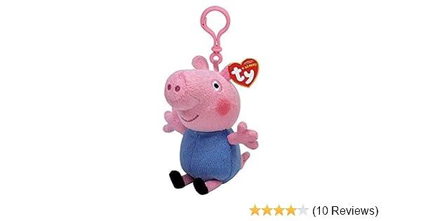 peppa pig george and friends keychain