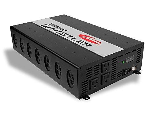Whistler 3000 Watt 12V DC to 115V AC Power Inverter XP3000i - 3000 Watt Power Converter