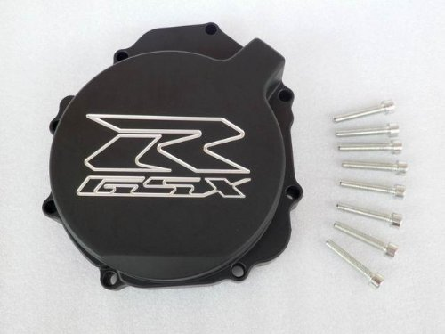 Black Stator Engine Side Cover For 2004-2005 Suzuki GSX-R 600 750 2003-2004 1000 by Tmsuschina