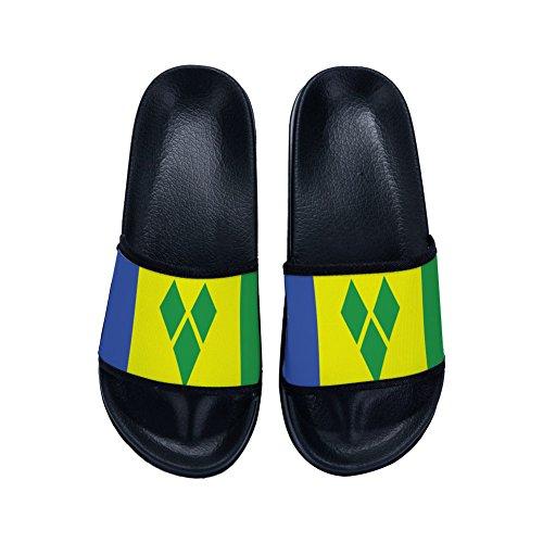 DREA Boys Girl's Casual Sandal Slippers National Flags Non-Slip Slippers Bathroom Shower -