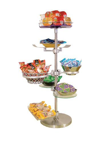 BSI ZS-100K-16 ZSpace Snack Display Kit, 13-Piece Kit