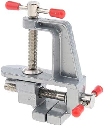 D DOLITY バイス クランプ 万力 ミニ ベンチクランプ 工芸品 ジュエリー 固定工具 アルミニウム合金 - D