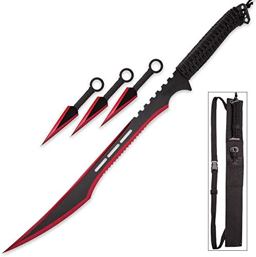 Snake Eye Tactical Ninja Sword and Martial Arts