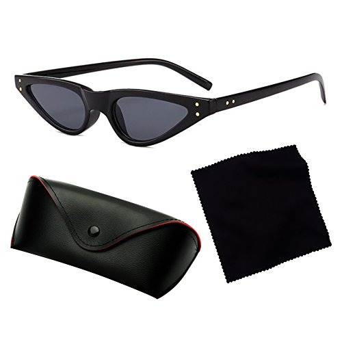Mujeres Shades Triangle C1 Hombres Eye Cat Highdas Small Sun Sunglasses Cateye Glasses Vintage tSwxRnq5P7