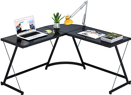 SHW L-Shaped Home Office Corner Desk by SHW (Image #4)