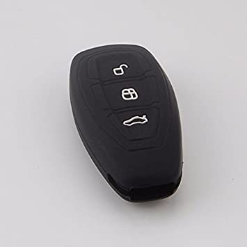 Silicone Cover Holder fit for FORD Fiesta Focus Mondeo Smart Remote Key Case PK