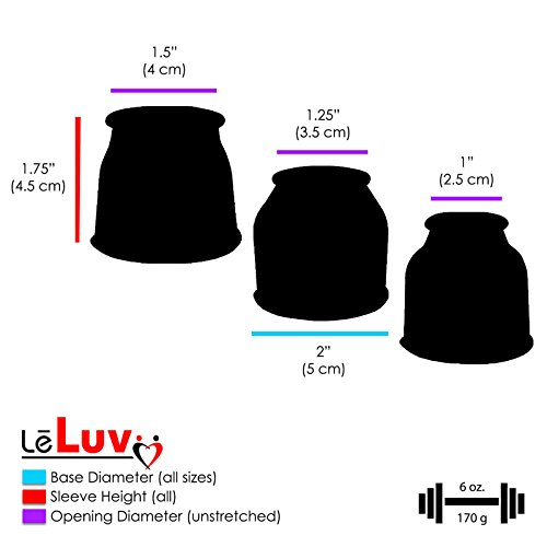 LeLuv Vacuum Pump EasyOp Z-Grip Silicone Tubing Bundle with with Silicone Septum & 3 Sleeves