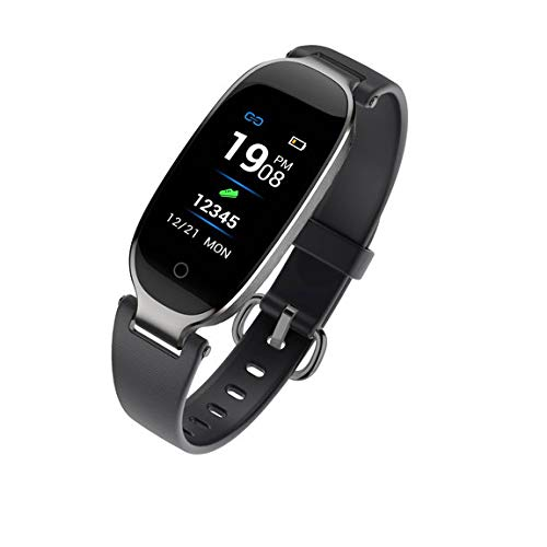 Cobcob Women's Smart Bracelet,2019 Blue-Tooth Fitness IP67