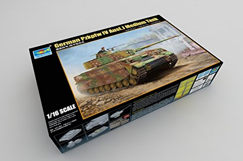 Trumpeter 1/16 German Pz.Kpfw IV Ausf.J Medium - Trumpeter 1 16 Panzer Iv