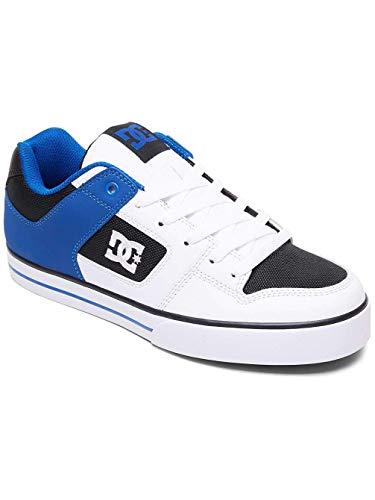 Pure Blanc da Ginnastica Blue Uomo Shoes Scarpe DC White Black ZO5wqUY