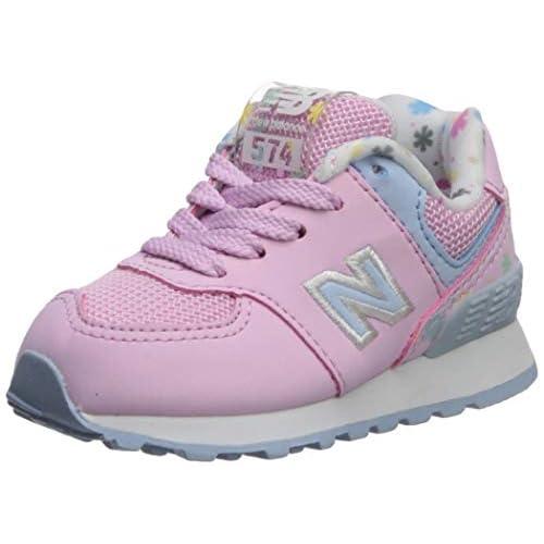 New Balance Kids' 574v1 Lace Up Sneaker