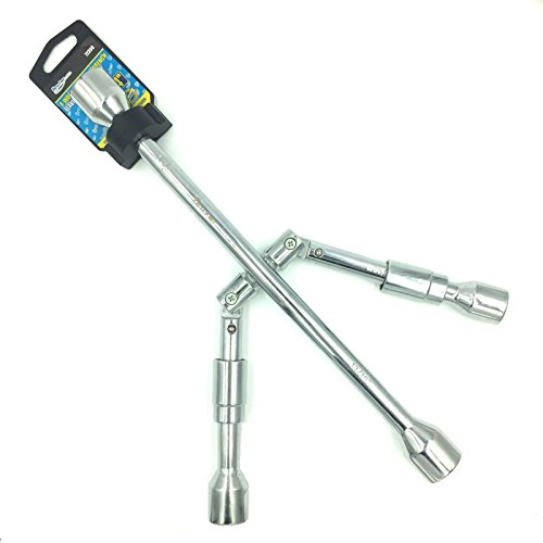 BRUFER 72350 4-Way Folding Lug Wrench ()
