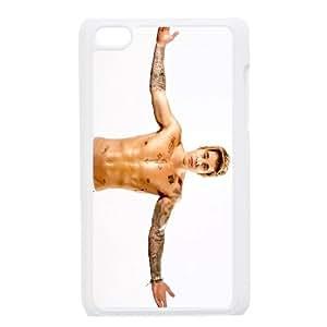 iPod Touch 4 Case White Justin Bieber kbov