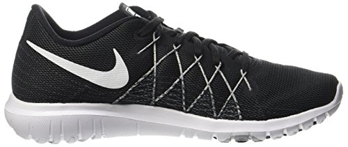 Nike Frauen Flex Fury 2 Laufschuh Schwarz / Wolf Grau / Weiß