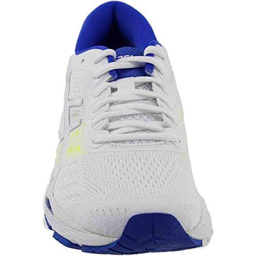 Kayano Shoe 24 Safety White Yellow Blue ASICS Womens Purple Running Gel XqXSfE