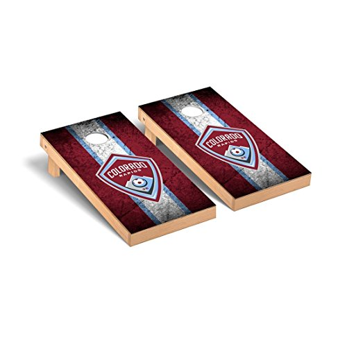 Victory Tailgate Colorado Rapids MLS Soccer Desktop Cornhole Game Set Vintage Version by Victory Tailgate
