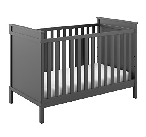 Storkcraft Eastwood 3-in-1 Convertible Crib Easily Converts to Toddler Bed & Day Bed, 3-Position Adjustable Height Mattress For Sale