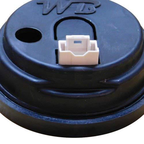 WB Wideband D2 Air Fuel Ratio Gauge WHITE