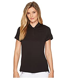 NIKE Women's Dry Short Sleeve Blade Golf Polo