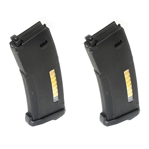 Airsoft Shooting Gear PTS 2pcs EPM 120rd Enhanced Polymer Magazine For Systema PTW M4 / M16