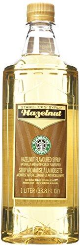 Starbucks Hazelnut Syrup (1-L.)