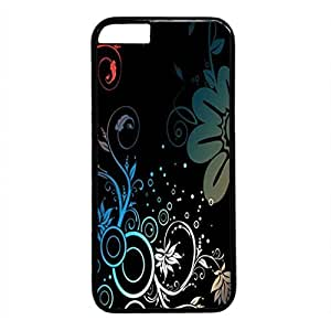 iCustomonline Flower Abstract Designs PC Protective Case Cover for iPhone 6