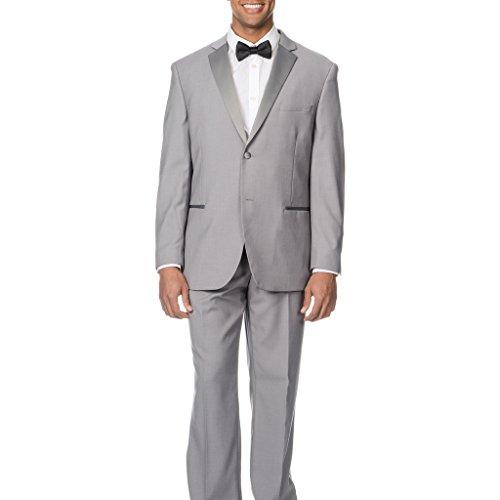 Caravelli Men's 60538 Slim Fit Two-Piece Notch Lapel Tuxe...