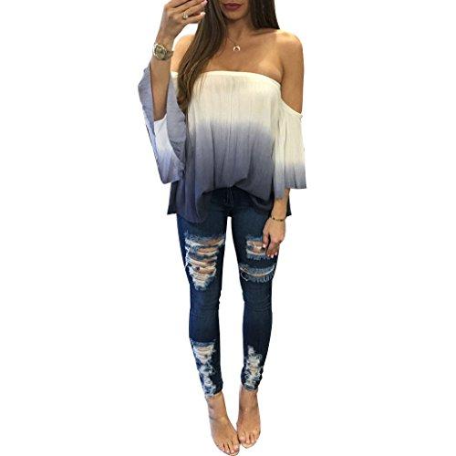 xuan2xuan3-women-off-shoulder-tie-dye-belly-long-sleeve-casual-loose-tunic-blouse-top-tee-shirt