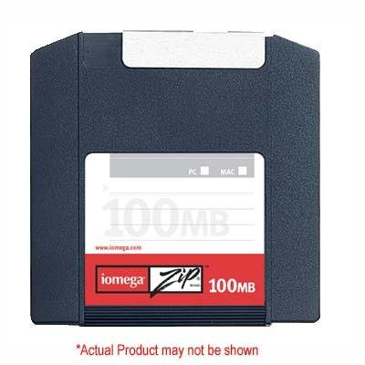 Iomega 2PK ZIP 100MB CLAMSHELL PC/MAC ( 32601 ) by Iomega