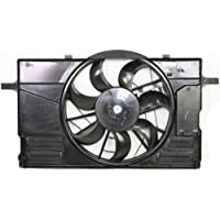 MAPM Premium S40 04-11/C30 08-13 RADIATOR FAN ASSEMBLY, Single, Includes Control Unit
