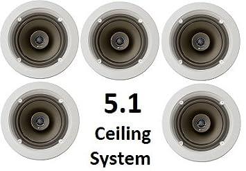 Amazon Niles 5 1 Ceiling Mount Surround Sound System Set