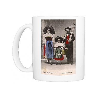 Photo Mug of Folk in the traditional costume of Alsace Lorraine