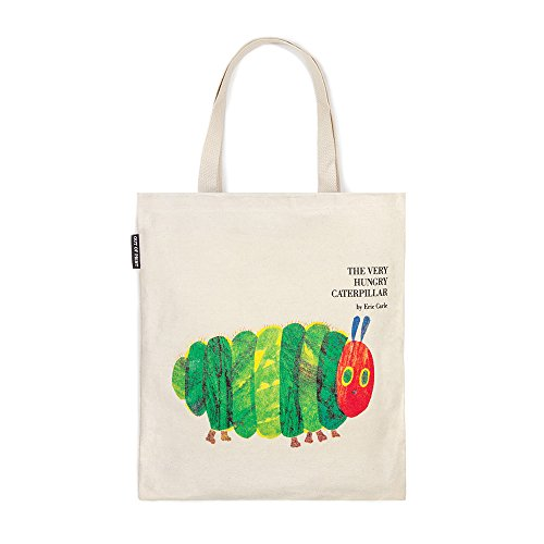 Classic Books Canvas Tote by Out Of Print Clothing (The Very Hungry Caterpillar) ()