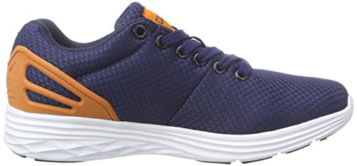 Basses Footwear Adulte Kappa Baskets Bleu 6744 Blau Navy Mixte Unisex Trust orange wISSgHq