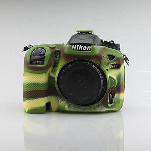 Funda de Silicona Carcasa de Silicona para cámara Nikon D7200 ...